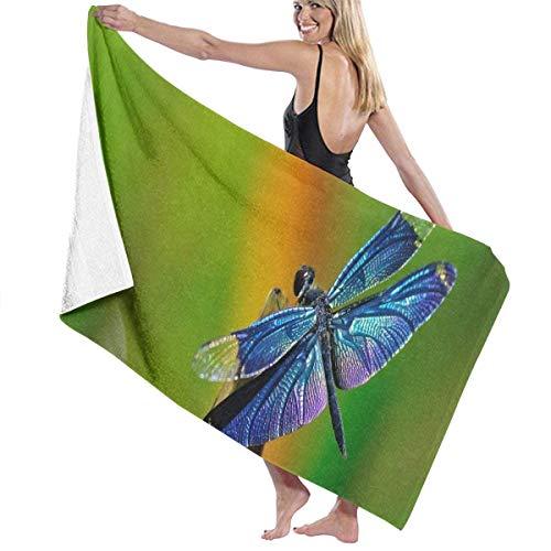 Strand Badetuch Libelle Wallpapers Quick Dry Leichte Strandbad Decke Ideal für Strandausflüge, Pool und Camping