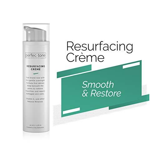 Perfec-Tone Resurfacing Night Cream Anti-Aging Skin Care System | Retinol Resurfacing Cream for Deep Wrinkle Treatment | Best Night Face Cream For Women | 50ml (1.69oz)