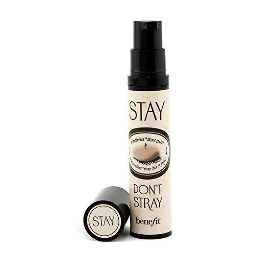 未知の取る批判するBenefit Cosmetics Stay Don't Stray Stay-Put Primer for Concealers & Eye Shadows, light/medium [並行輸入品]