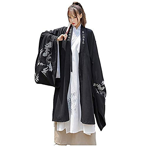 Hanfu Damen-Bekleidung im antiken chinesischen Stil, traditionelles Retro, Hanfu Cosplay, Tanz, Performance, Kostüm, XXX, groß