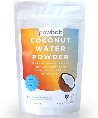 powbab Coconut Water Powder From 100 Organic Coconut No Sugar Added Pure Delicate Clean Taste product image