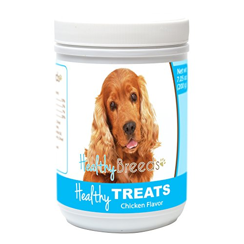 Healthy Soft Chewy Dog Treats for Cocker Spaniel - Over 80 Breeds - Tasty Flavored Snack - Small Medium or Large Pets - Training Reward - 7oz