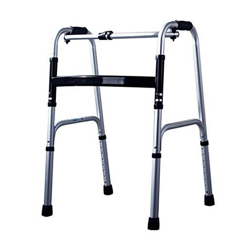 Z-SEAT Heavy Duty Travel Folding Walker, bariatrischer Gehrahmen für Erwachsene für Senioren Mobilitätshilfe für Behinderte |Breite Gehhilfe max.180 kg