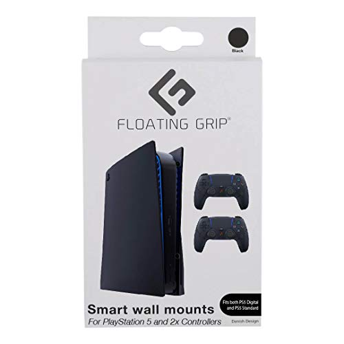 FLOATING GRIP Wall Mount for 1x PlayStation 5 (PS5...