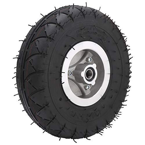 Neumático de Caucho, neumático de Scooter eléctrico 4.10‑3.50‑4 Neumático Reemplazo de neumático de Scooter para carros para cortacésped para triciclos eléctricos