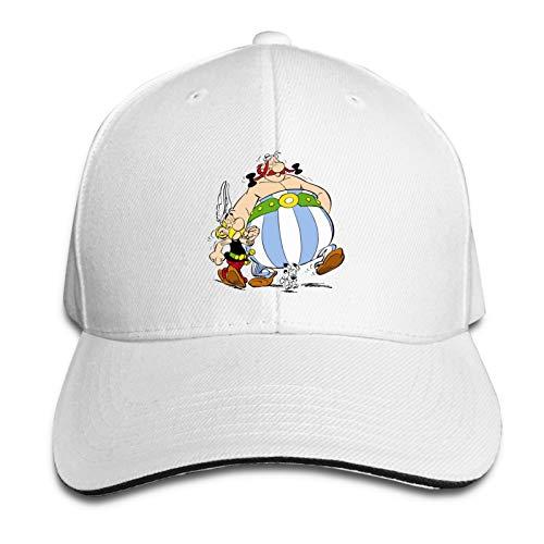 Asterix and Obelix Unisex moda y fresco Sandwich Caps Viajar a prueba de viento y sombrilla esencial para fotos