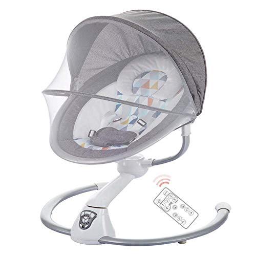 SHARESUN Babywippe tragbare Babyschaukel Echtes bionisches Design, 2 Schwungmodi, 5-Gang-Schwung,...