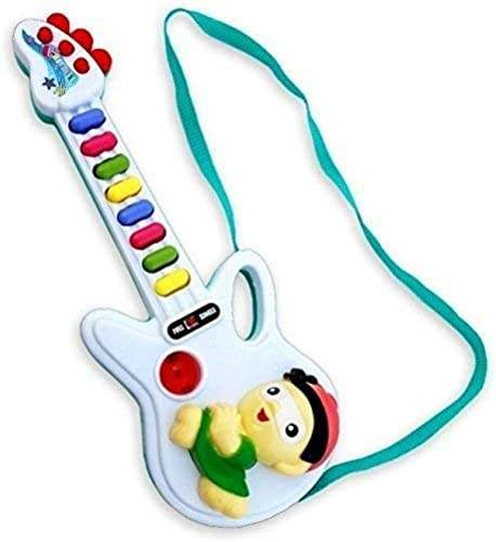 HRK Guitar For Kids Musical Instrument Learning Toy For Kids Color May Vary