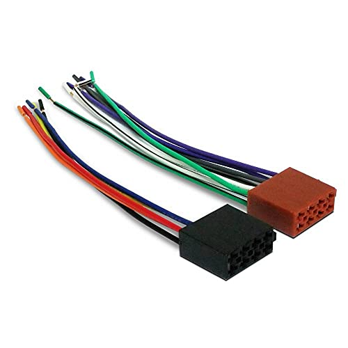 oniroview Set 2 Connettore Femmina ISO Standard per autoradio Alimentazione e Casse 5 +8 Poli