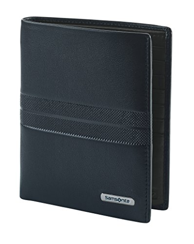 Spectrolite SLG - Wallet for 14 Creditcards, 2 Compartments Tarjetero, 13 cm, 0 Liters, Azul (Night Blue/Black)