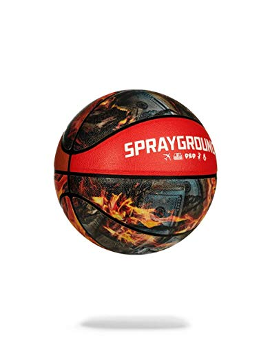 Buy Bargain Sprayground Basketball Spalding X FIRE Basketball