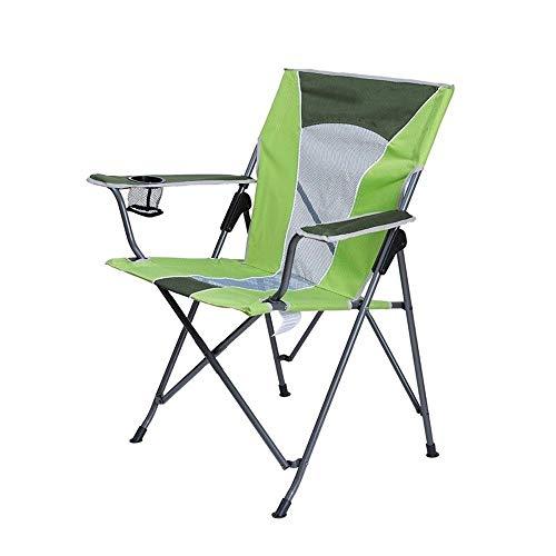 Acampar Silla, Silla plegable portátil de peso ligero, plegable silla plegable, ligero y duradero asiento al aire libre, sillas compacta Ultraligero plegable con mochila for al aire libre, campo, Send