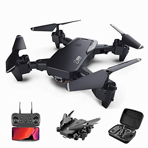 XIAOKEKE S60 Drone Cámara 4K HD, RC Mini Drone, 3D Flips, Modo Sin Cabeza con App WiFi FPV 2.4Ghz, Altitud Hold, Una Tecla De Despegue Y Aterrizaje De Gravedad, Mejor Regalo