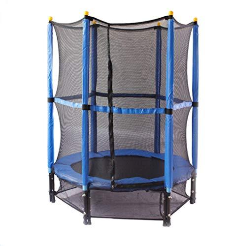 Trampoline met veiligheidsbehuizing Net Spring Pad Outdoor Ronde Bounce Jumper Ingebouwde Rits Heavy Duty Frame Geweldig Verjaardagscadeau