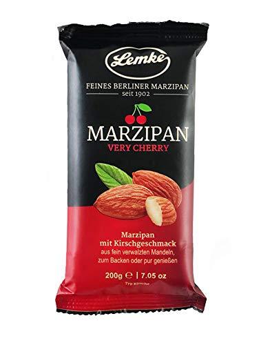 Lemke Marzipan / Backmarzipan - Very Cherry - Kirsch-Edelmarzipan (1x200g)