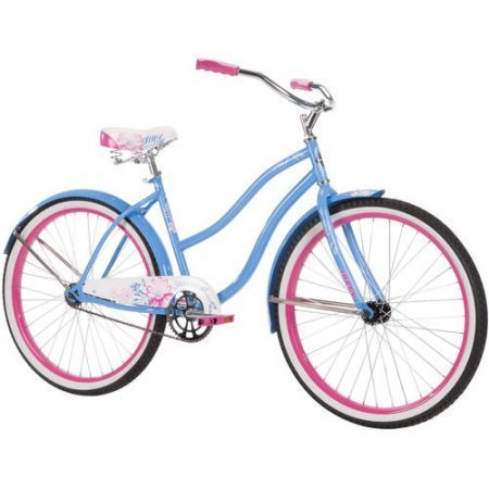 26' Huffy Women's Cranbrook Cruiser Bike, Ocean Blue