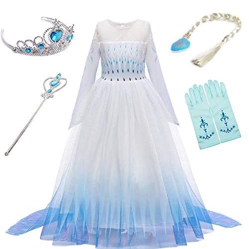 YOGLY - Vestido - para niña 11 Kleid und Zubehör 100