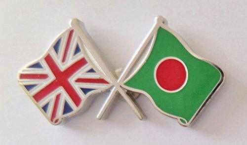 1000 drapeaux du Bangladesh et drapeau du Royaume-Uni