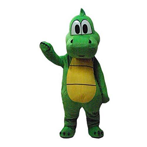 Krister Green Dinosaur Mascot Costume Adult Halloween Costume