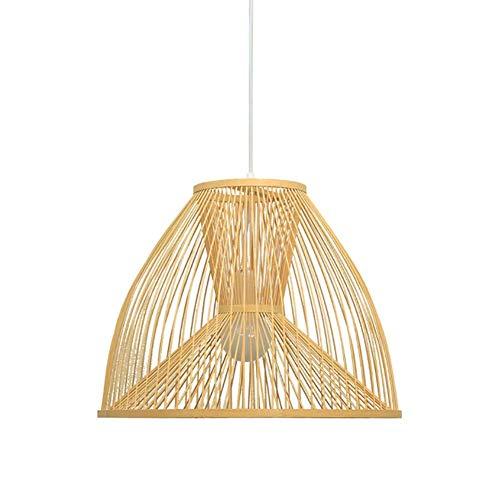 HLJ Candelabro creativa restaurante japonés de la lámpara Nuevo estilo chino Sala de Estudio de la lámpara Hot Pot Shop Tienda de ropa decoración de la lámpara de la lámpara de bambú Zen