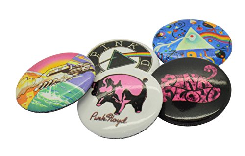 Pink Floyd Prism Button-Pack Mehrfarbig