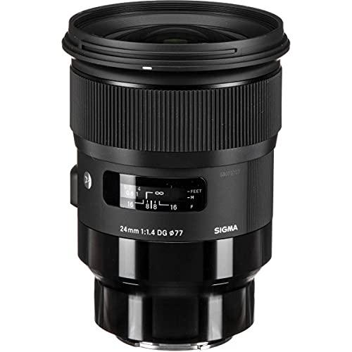 Sigma 24mm f/1.4 DG HSM Art Lens for Leica L-Mount Cameras, Black