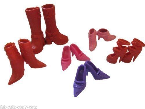 10 Paires De Qualité Chaussures Mode Talon Haut Talons Sandales & Bottes pour Poupée Barbie Sindy (Pas Mattel) Vêtement Robe Jouet Posté Depuis Londres par Fat-CATZ