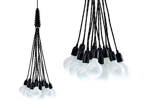 Leitmotiv Lustre design Bundle Light avec 15 ampoules