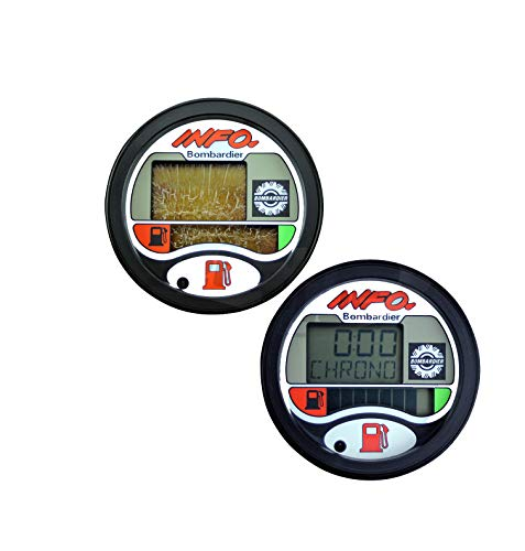 !! NOT A Gauge Assembly, Repair KIT !! Compatible with SEA-DOO Repair Kit for LCD Info Gauge Center Display (Fits Many 1996-05 GTX GSX GTI LRV RX XP / LTD DI RFI , See Ad for Exact Model & Year Fit