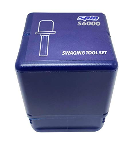 """SSPIN300 Swaging Tool Drill Bit Set with 1/4"""" 3/8"""" 1/2"""" 5/8"""" 3/4"""" 7/8"""" Bits"""