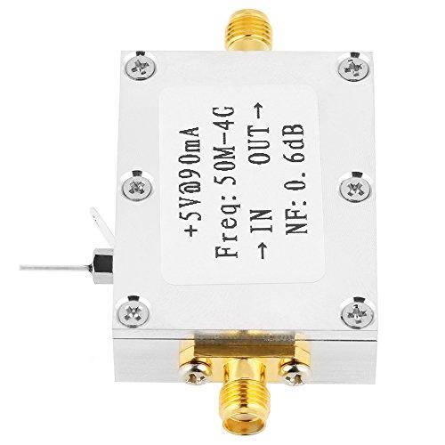 50M-4GHz Amplificador de Bajo Ruido 0.6dB RF LNA Amplificador Módulo de Receptor...