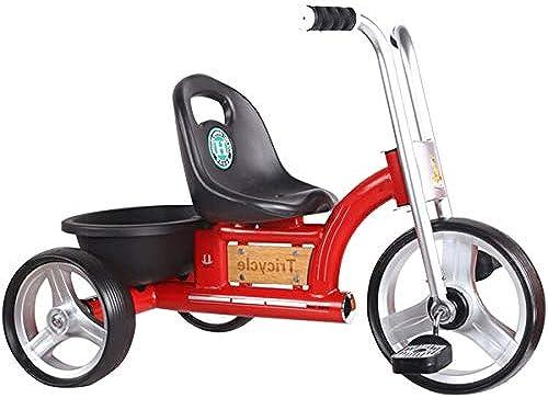 Dreirad Für Kinder Dreir iger Kinderwagen Britisches Retro-Auto Babyfürrad Einfaches Dreirad