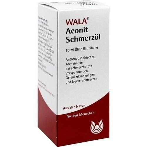 WALA Aconit Schmerzöl, 50 ml Öl