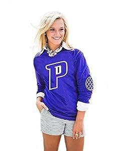 NBA Women's Puff Print Elbow Patch Long Sleeve Tee, Alternate Team Colors, Select Teams
