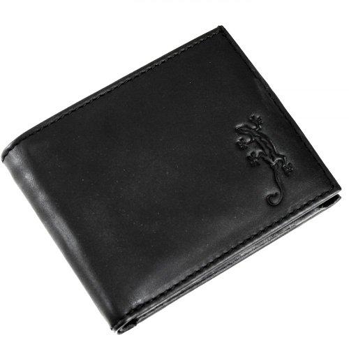 oxmox Leather Pocketbörse 10,5 cm Lizard