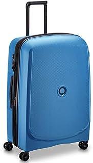 Delsey Belmont Plus Luggage Trolley Bag - Blue