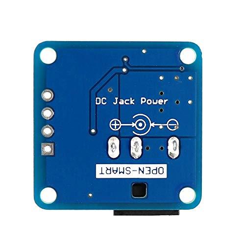 Módulo electrónico C Jack Power 7~12V a DC5V / 3.3V Regulador de voltaje del convertidor de paso DC5V / 3.3V Módulo de alimentación de la fuente de alimentación para el panboad abierto-inteligente D