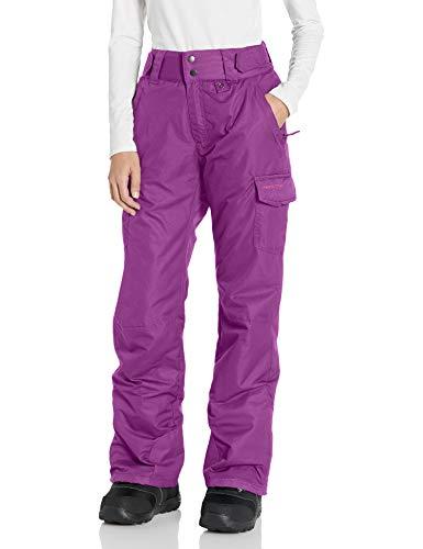Arctix Women's Snow Sports Insulated Cargo Pants, Plum, Large