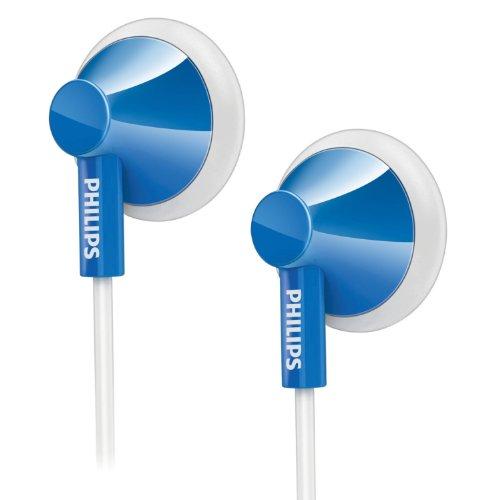 Philips SHE2105BL Écouteurs intra auriculaire pour Lecteur mp3 Bleu