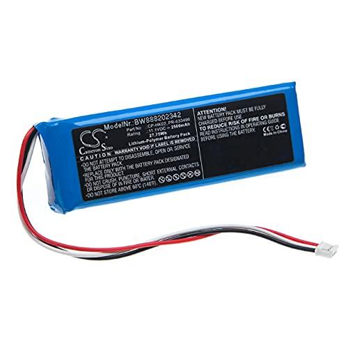 vhbw Batería Recargable reemplaza Harman/Kardon CP-HK02, PR-633496 para Altavoces, Cajas acústicas, bafles...