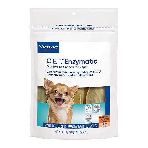 virbac dental chews for dogs Virbac CET Enzymatic Oral Hygiene Chews for Dogs