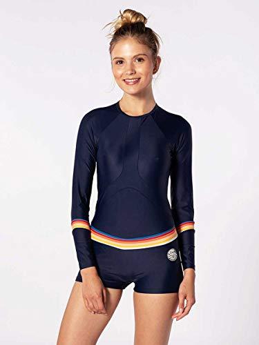RIP CURL Damen Boyleg Langarm UV Surf Suit - Stripe - UV - Protection und SPF Properties - Faktor 50+