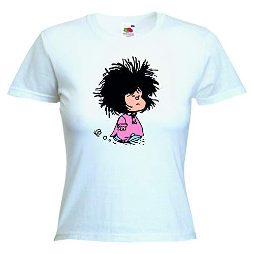 DrMugCollection Camiseta Mafalda Sleep Mujer (S)