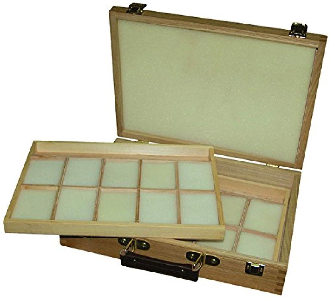 Artcoe Two Tray Pastel Box, Pine by Artcoe
