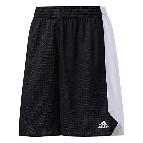 adidas Damen Reversible Crazy Explosive- Shorts, Schwarz (Black/White), XXL