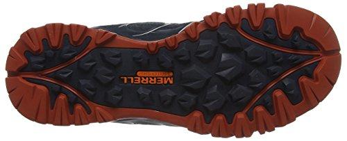Merrell Capra Bolt Mid Gtx - Chaussures de Randonnée Hautes - shoes - homme - Noir (Black/navy) - 43 (UK 8.5)