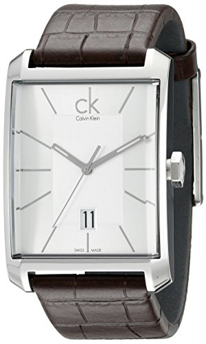 Calvin Klein Men's K2M21126 'Window' Silver...
