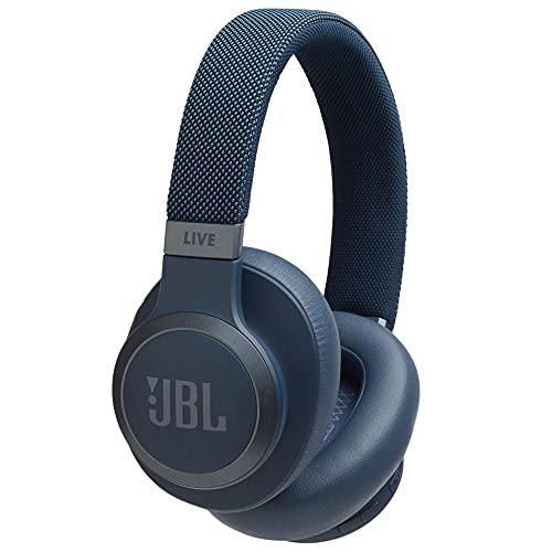 JBL LIVE 650BTNC – Azul, blanco