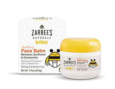 Zarbee's Naturals Baby Soothing Face Balm, Beeswax, Chamomile, 1.75 Ounce by ZarBee's