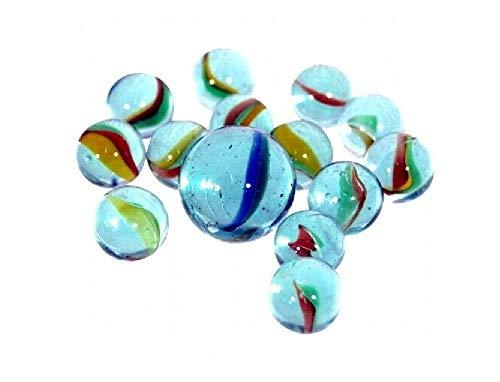 Sonnenscheinschuhe® Murmel Set 81 Stück Glasmurmeln Murmeln Spiel Spielzeug bunt Kinder Murmelspiel